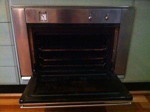 photo of oven before and Oven Perfect oven clean, Newcastle