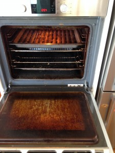'before' oven clean
