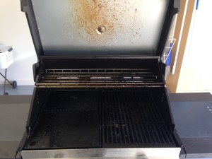 BBQ cleaning Newcastle Before Photo