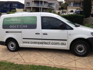 New Oven Cleaning Van