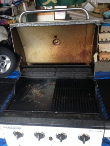 Before professional BBQ Clean photo New Lambton