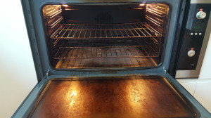 domestic oven cleaning newcastle before photo