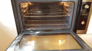domestic oven cleaning newcastle after photo
